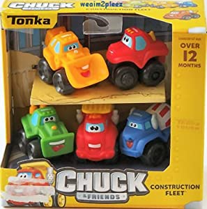 Chuck and Friends Construction Fleet 5 pack