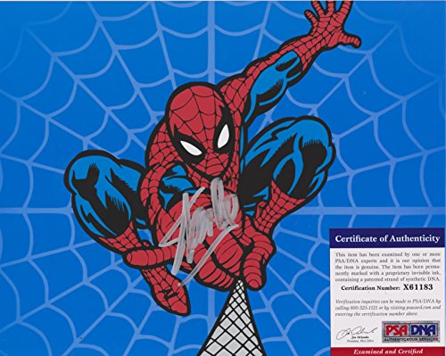 Stan Lee Spider-Man 3 Autographed Photo PSA/DNA