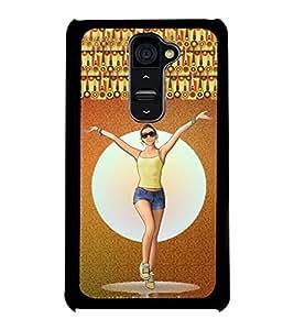 Printvisa 2D Printed Girly Designer back case cover for LG G2 - D4159