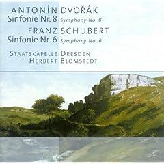 Dvorak, A.: Symphony No. 8 / Schubert, F.: Symphony No. 6 (Dresden Staatskapelle, Blomstedt)