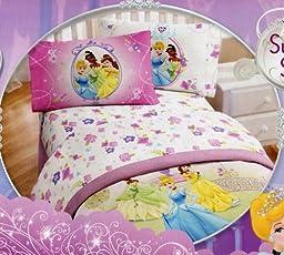 Disney Princess Twin Reversible Comforter