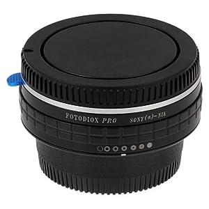 Fotodiox Pro Lens Mount Adapter, Sony Alpha A-Mount (Konica Minolta Maxxum AF) Lens to Nikon Cameras, for Nikon D7100, D7000, D5200, D5100, D3100, D300, D300S, D200, D100, D50, D60, D70, D80, D90, D40, D40x, N70s, D80, D800, D800e, D4, D3, D2, D1 from Fot