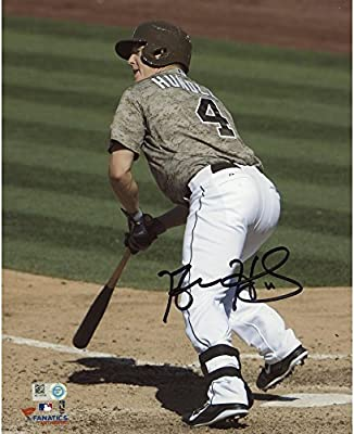 "Nick Hundley San Diego Padres Autographed 8"" x 10"" Vertical Photograph - Fanatics Authentic Certified"