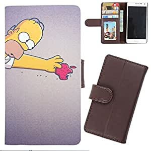 DooDa - For Samsung Galaxy Mega 5.8 PU Leather Designer Fashionable Fancy Wallet Flip Case Cover Pouch With Card, ID & Cash Slots And Smooth Inner Velvet With Strong Magnetic Lock
