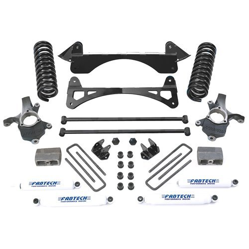 fabtech performance suspension lift kit for chevy 2wd