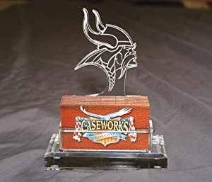 NFL Minnesota Vikings Business Card Holder in Gift Box by Caseworks