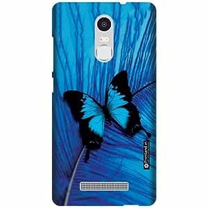 Printland Designer Back Cover for Xiaomi Redmi Note 3 - Blue Case Cover