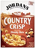 Jordans Country Crisp Chunky Nuts 500 g (Pack of 6)
