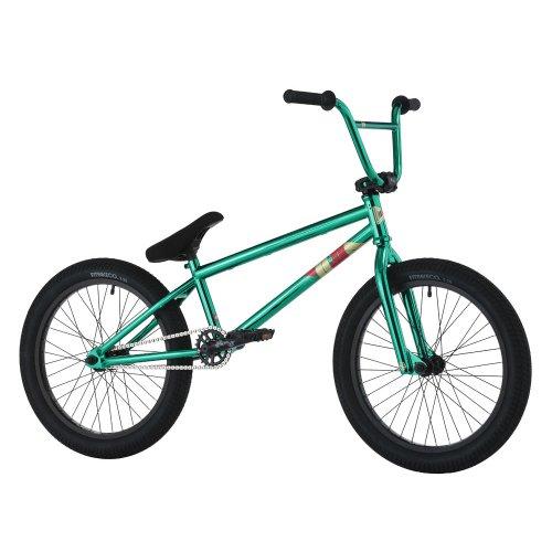 Hoffman Bikes 20.8-Inch Ontic AL BMX Bike (ED Green)