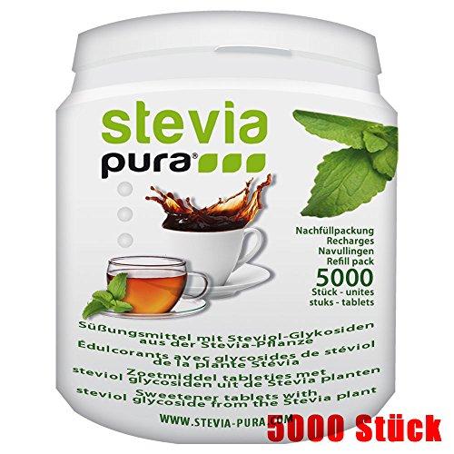 die beste steviapura stevia tabs sparpackung 5000. Black Bedroom Furniture Sets. Home Design Ideas