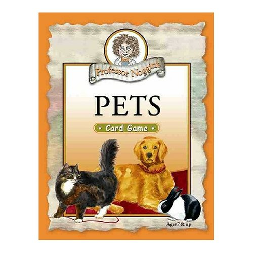 Buy Outset Media Corporation Professor Noggin's Pets Card Game