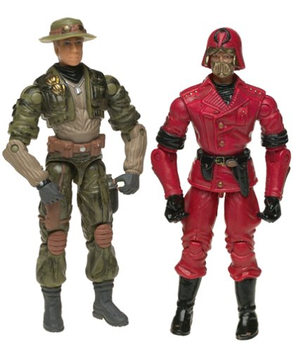 Picture of Brian's G.I. Joe: Spy Troops Cross Hair vs. Cobra C.L.A.W.S. Figure (B00008JOJU) (G.I. Joe Action Figures)