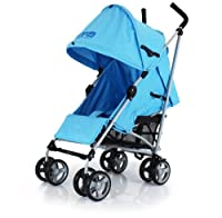 Baby Travel Zeta Vooom - Ocean Blue Stroller Buggy Pushchair From Birth Complete With Free Raincover by BABY TRAVEL