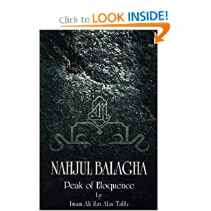 Amazon.com: Nahjul Balagha: Peak of Eloquence (9780940368422): Ali ...