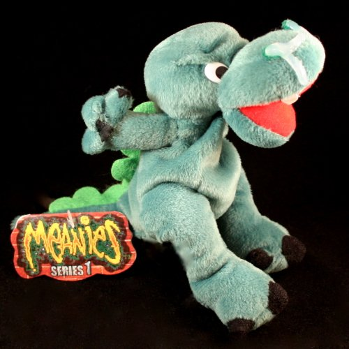 BORIS THE MUCOUSAURUS * MEANIES * Series 1 Bean Bag Plush Toy From The Idea Factory