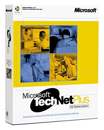 Microsoft TechNet Plus - 1 User