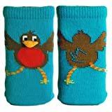Funky Fone Sox Mobile Phone Sock - Raving Robin