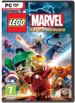 Lego Marvel Super Heroes PC DVD Game UK