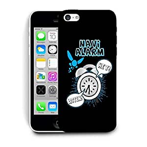 Snoogg Navi Alarm Designer Protective Back Case Cover For IPHONE 5C