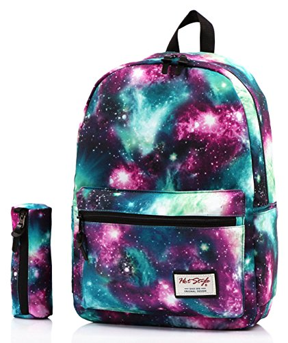 hotstyle-fashion-printed-trendymax-galaxy-pattern-school-backpack-cute-for-girls-with-matching-penci