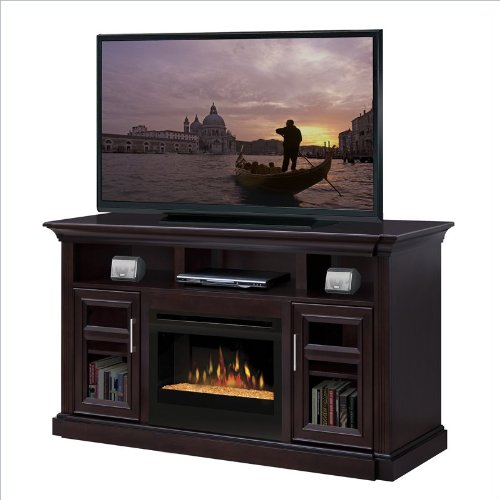 Dimplex Bailey Electric Fireplace Entertainment Center in Espresso image B008LBEMK4.jpg