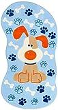 Confeti, alfombras para niños, 80 x 150 cm, Azul (Blau)
