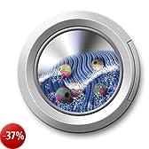 Wenko 7027100 - Sfere per bucato anti pelucchi, plastica (PP), 6 pezzi, ø 4 cm, colore: Verde / Rosa