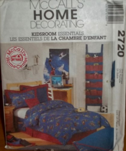 Mccall'S 2720 Home Decorating Kidsroom Essentials Pattern front-1021284