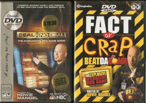 Deal or No Deal and Fact or Crap ~ Howie Mandel ~ DVD TV Games ~ 2 Pack