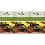 Mighty Leaf Tea Tropical Green Tea, 1.32 ounce (Pack of 3)