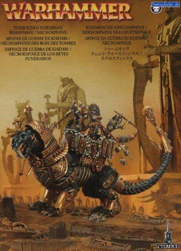 Tomb Kings: Khemrian Warsphinx / Necrosphinx (2011)