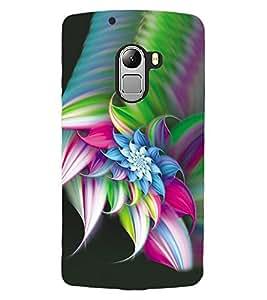 ColourCraft Amazing Flower Image Design Back Case Cover for LENOVO VIBE X3 LITE