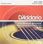 D'Addario EJ17 Phosphor Bronze Medium...