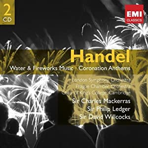 Handel Water Music Fireworks by EMI Classic