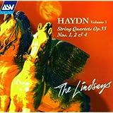 Haydn:String Qrt.Op33 1,2,4