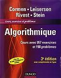 Algorithmique - 3ème édition - Cours avec 957 exercices et 158 problèmes...