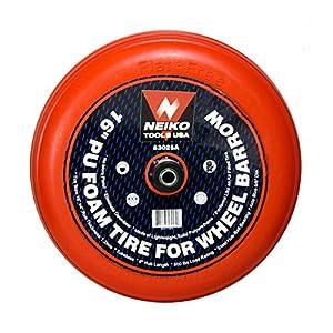 """16"""" Flat-Free Foam Tire For Wheel Barrows"""