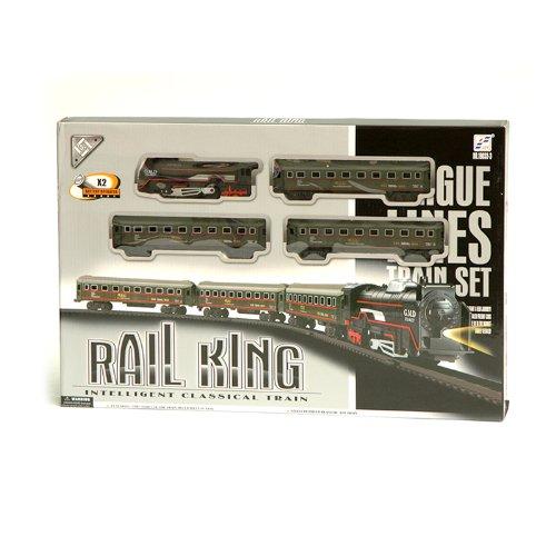 Rail-King-19033-3-Modelleisenbahn-Eisenbahn-Lockomotive-Dampflok-inkl-Lichtfunktion-mit-Personenwagen-und-Schienen-104-x-68-cm