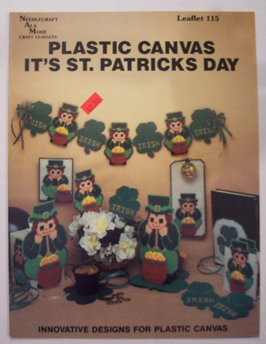 Plastic Canvas It's St. Patricks Day (Craft Book)