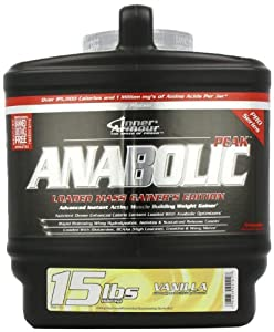 Inner Armour Nutritional Supplement Anabolic Peak, Vanilla, 15 Pound