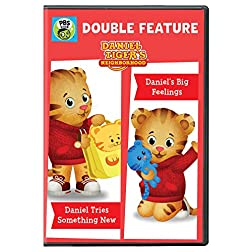Daniel Tiger's Neighborhood: Daniel Tries Something New and Daniel's Big Feelings DVD