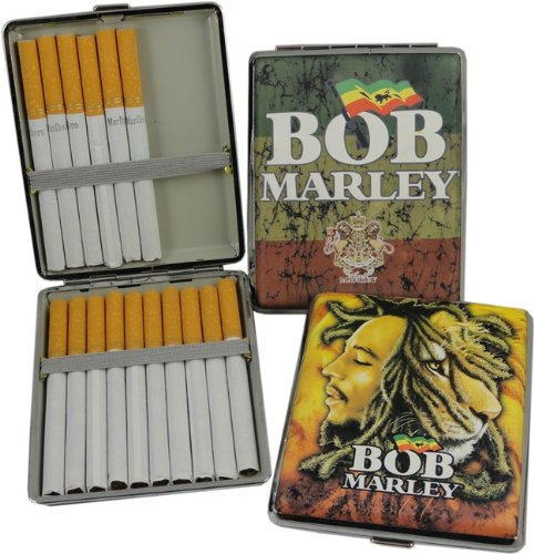 Bob Marley Collector's Series Cigarette Case (For King Size & 100's) #15A