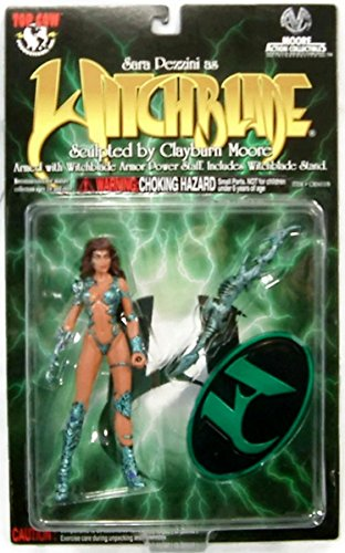 Witchblade Action Figure (Green Clothing) - By Clayburn Moore - 1