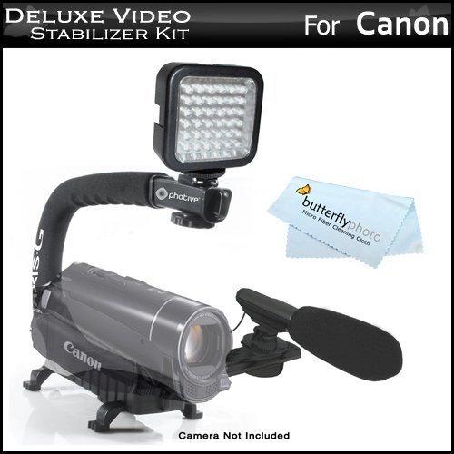 led-video-light-mini-zoom-shotgun-microphone-w-mount-video-stabilizer-kit-for-canon-vixia-hf-r700-hf