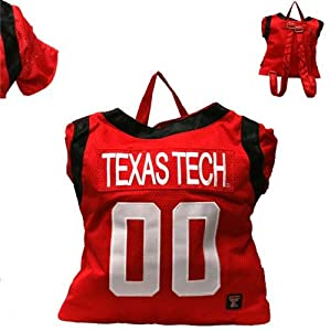 Texas Tech Red Raiders Jersey Back Pack