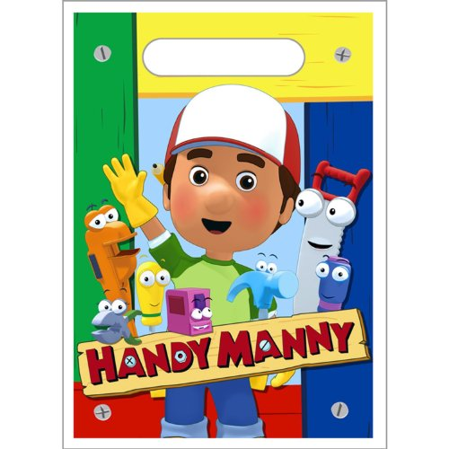 Handy Manny Loot Bags 8ct