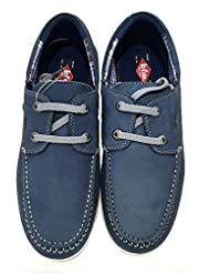 Lee Cooper Men's Leather Casual Loafers - B00IUH9JS4
