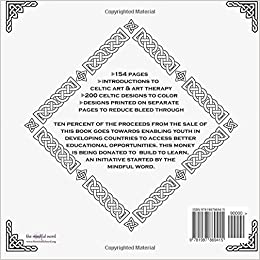 Amazon Celtic Designs Coloring Book For Adults 200 Celtic Knots Crosses And Patterns To