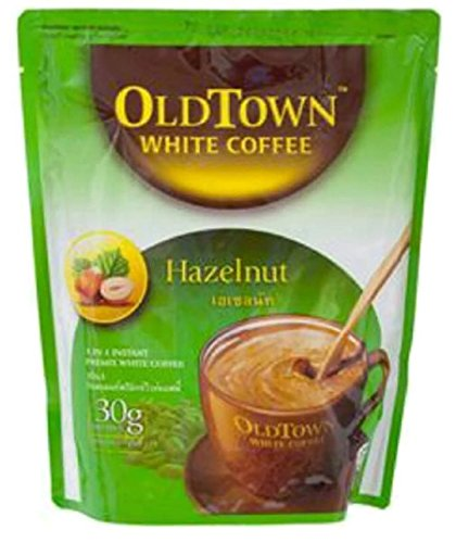 OLD TOWN INSTANT PREMIX WHITE COFFEE 3IN1 HAZELNUT 30G. PACK 10SACHETS (Krups Coffee Grinder Red compare prices)