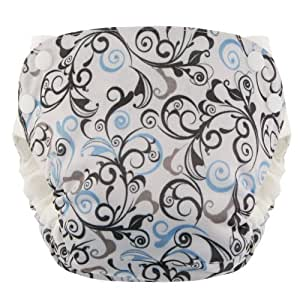 Swaddlebees Simplex 2.0 Swirls Diaper (Medium)